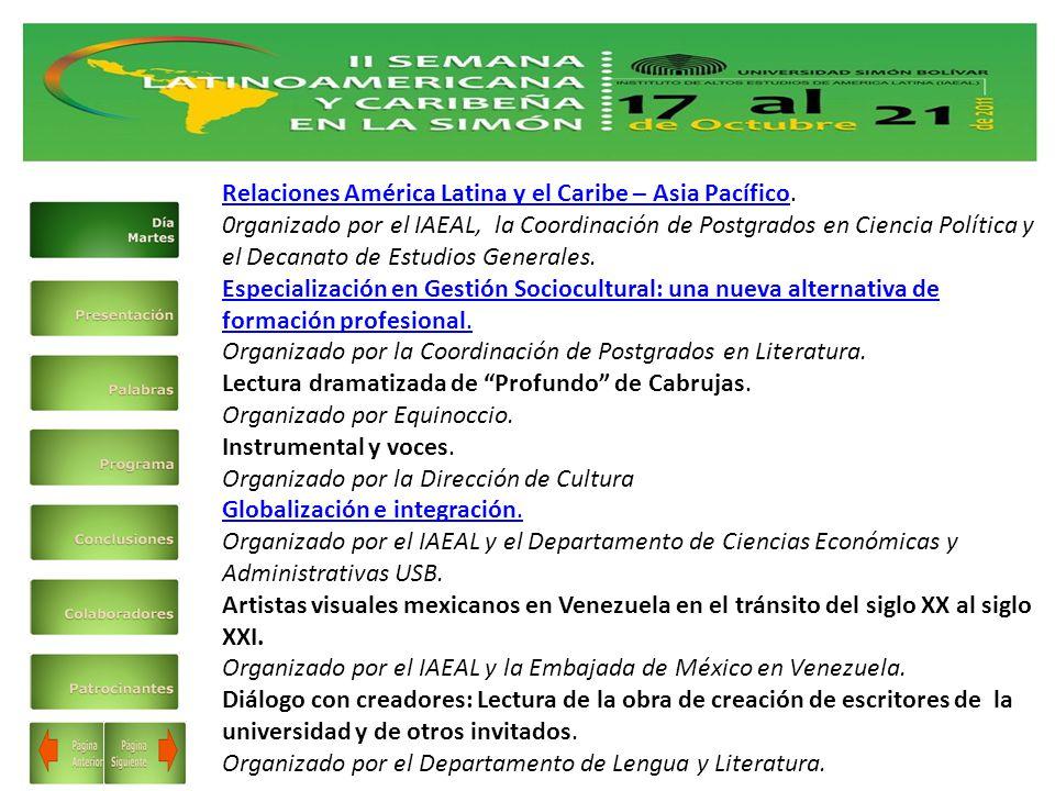 Relaciones América Latina y el Caribe – Asia PacíficoRelaciones América Latina y el Caribe – Asia Pacífico.