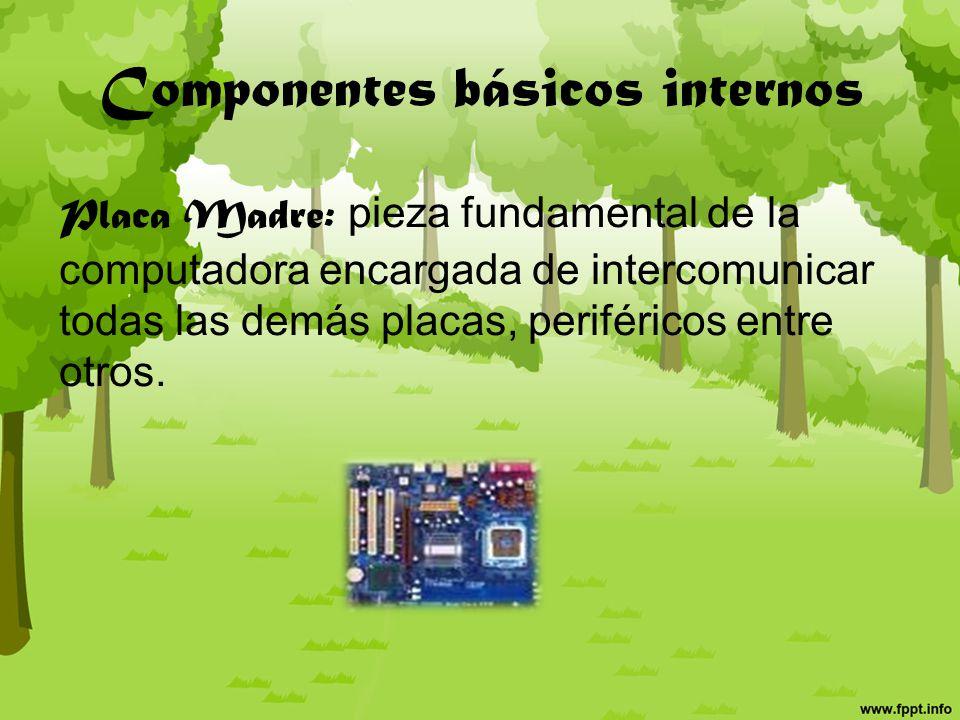 Periféricos y dispositivos de la computadora Hecho por: Luisa Fernanda Cochero