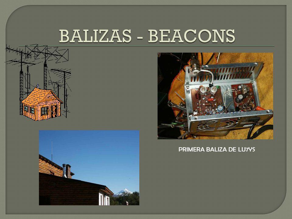 PRIMERA BALIZA DE LU7YS