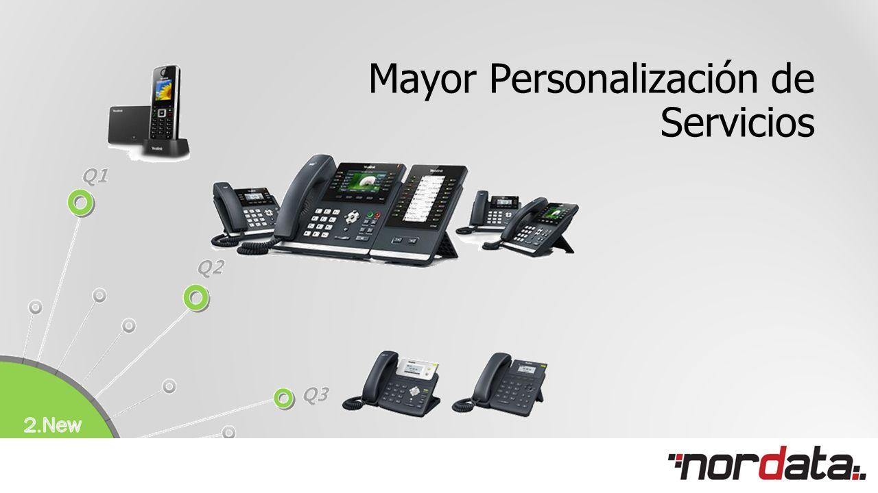 Mayor Personalización de Servicios