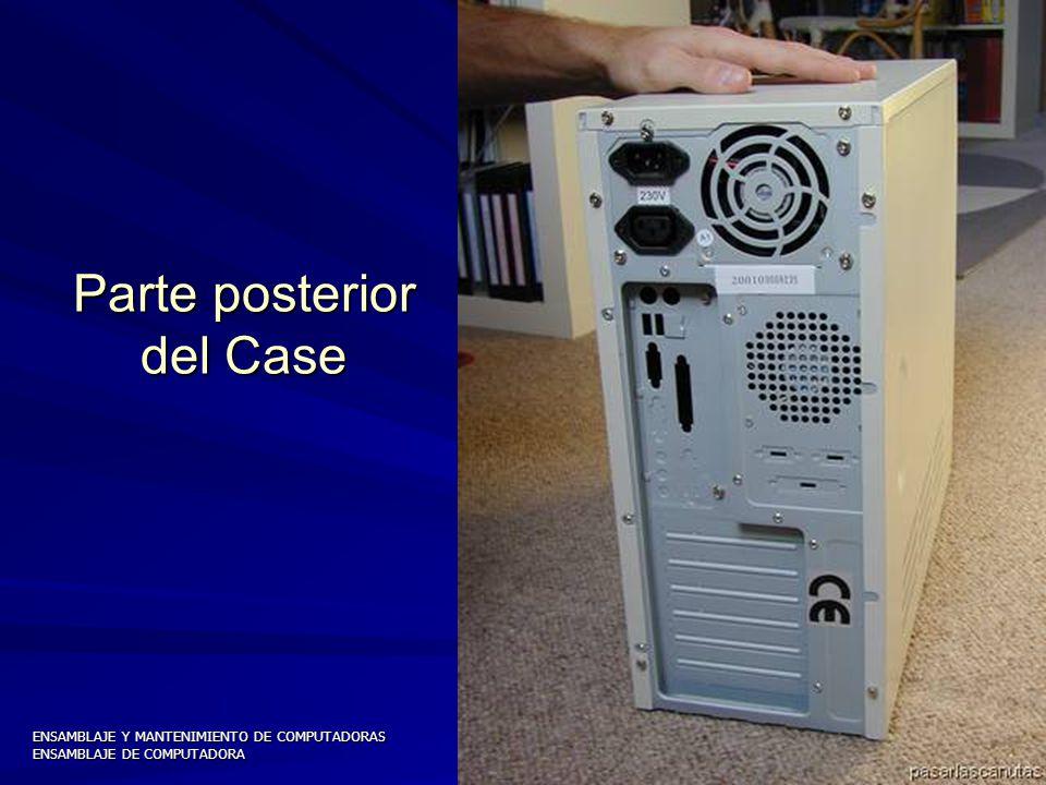 ENSAMBLAJE Y MANTENIMIENTO DE COMPUTADORAS ENSAMBLAJE DE COMPUTADORA UNIVERSIDAD CATOLICA BOLIVIANA SAN PABLO GESTIÓN - 2006 Semitorre ATX (Con 4 bahías)