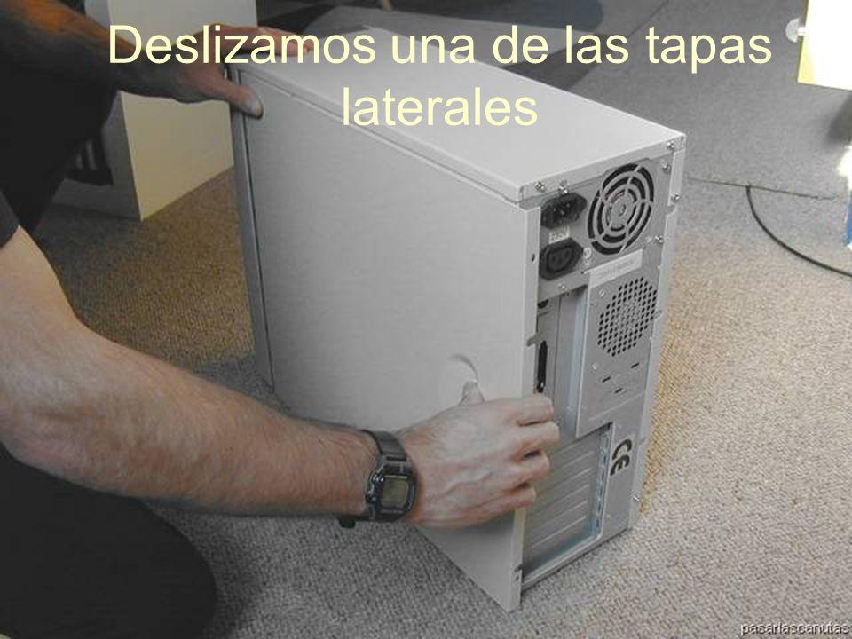 ENSAMBLAJE Y MANTENIMIENTO DE COMPUTADORAS ENSAMBLAJE DE COMPUTADORA UNIVERSIDAD CATOLICA BOLIVIANA SAN PABLO GESTIÓN - 2006 Quitar los tornillos de una de las partes laterales
