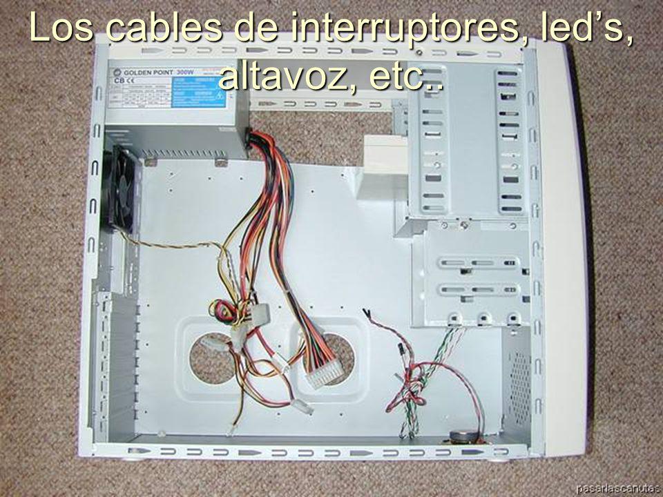 ENSAMBLAJE Y MANTENIMIENTO DE COMPUTADORAS ENSAMBLAJE DE COMPUTADORA UNIVERSIDAD CATOLICA BOLIVIANA SAN PABLO GESTIÓN - 2006 Partes que contiene el Case