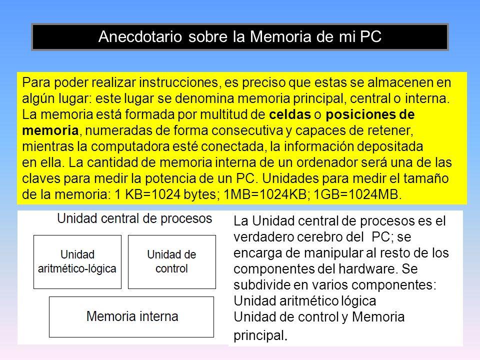 12 Al encender el PC, el BIOS se carga automáticamente en la memoria principal y se ejecuta desde ahí por el procesador (aunque en algunos casos el procesador ejecute el BIOS leyéndolo directamente desde la ROM que lo contiene), cuando realiza una rutina de verificación e inicialización de los componentes presentes en el ordenador.