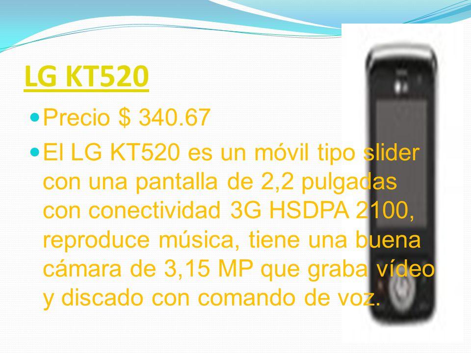 LG KM500 Precio $ 350.78 El LG KM500 esta diseñado con teclado para acceder de forma rápida a esta función ( si tener que deslizarlo y controles para el volumen en el lateral), la novedad es es sistema IDtag3 que permite que aparezca en la pantalla tanto el nombre de la canción, como el álbum, artista y los datos que estén disponibles.