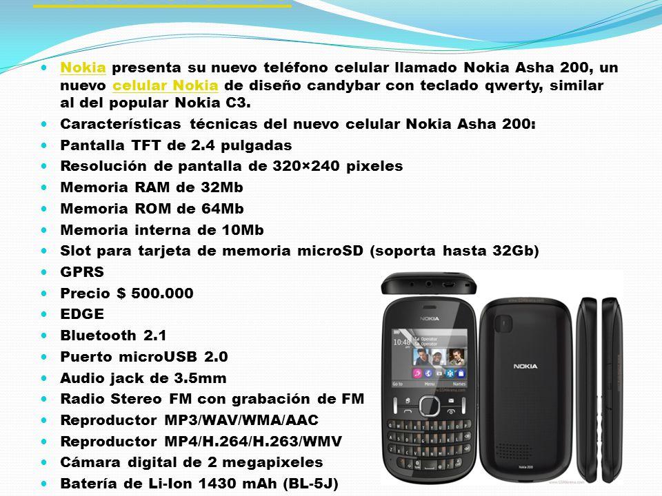 Acer Allegro Acer Allegro AcerAcer anunció el lanzamiento de su nuevo teléfono celular llamado Acer Allegro, un nuevo celular Acer de diseño touch-centric basado en el nuevo sistema operativo de Microsoft para celulares, Windows PhoneMango.celular Acer Características técnicas del nuevo celular Acer Allegro: Pantalla TFT capacitiva táctil de 3.6 pulgadas Resolución de pantalla de 480×800 pixeles Memoria interna de 8Gb Slot para tarjeta de memoria microSD (soporta hasta 32Gb) GPS con A-GPS GPRS EDGE Precio $ 10,000 Wi-Fi 802.11 b/g/n Bluetooth 2.1 Puerto microUSB 2.0 Acelerómetro Audio jack de 3.5mm Reproductor MP3/WAV/WMA/eAAC+ Reproductor MP4/WMV/H.264/H.263 Chipset Qualcomm MSM8255 y procesador Snapdragon de 1Ghz Sistema Operativo Microsoft Windows Phone 7.5 Mango Cámara digital de 5 megapixeles con auto foco y flash LED Batería de Li-Ion 1300 mAh