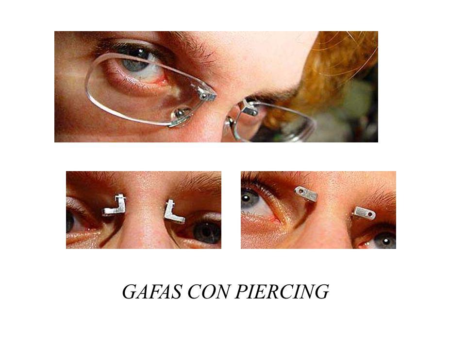GAFAS CON PIERCING