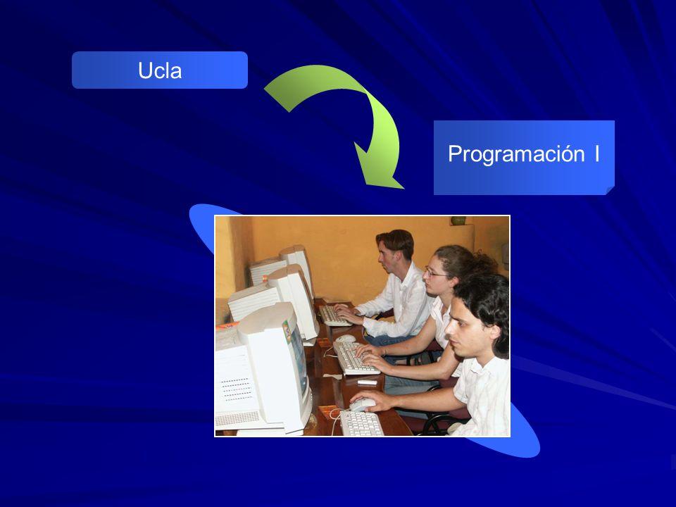 Ucla Programación I