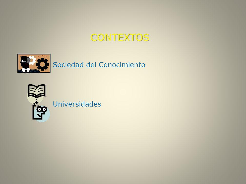 CONTEXTOS Sociedad del Conocimiento Universidades