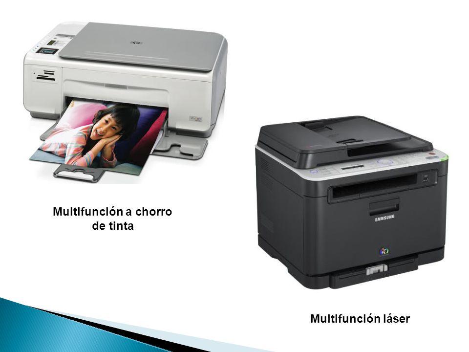 Multifunción láser Multifunción a chorro de tinta