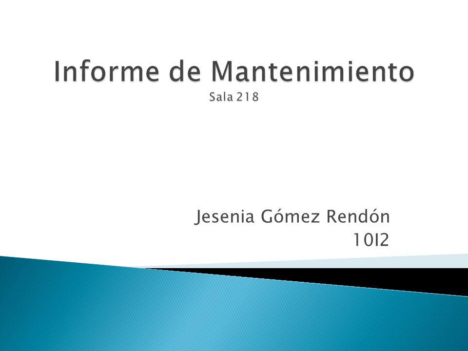 Jesenia Gómez Rendón 10I2