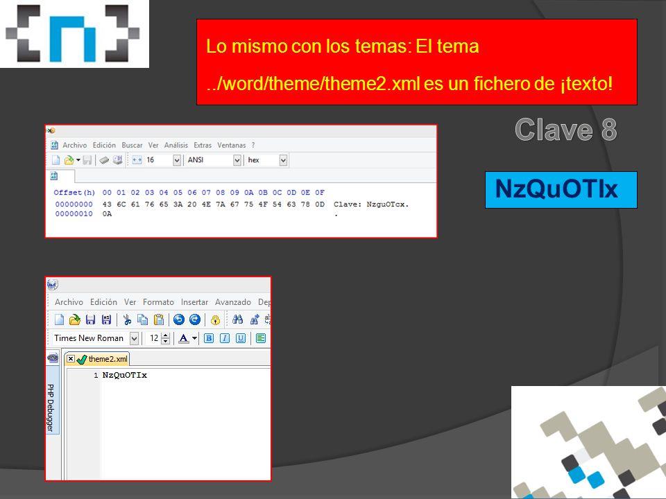 NzQuOTIx Lo mismo con los temas: El tema../word/theme/theme2.xml es un fichero de ¡texto!