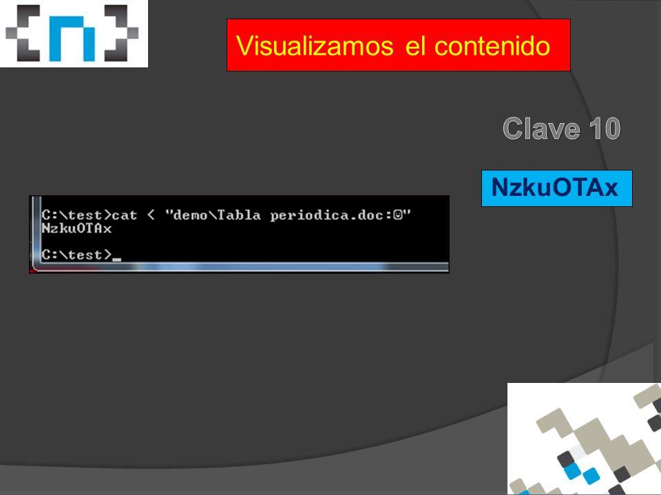 NzkuOTAx Visualizamos el contenido