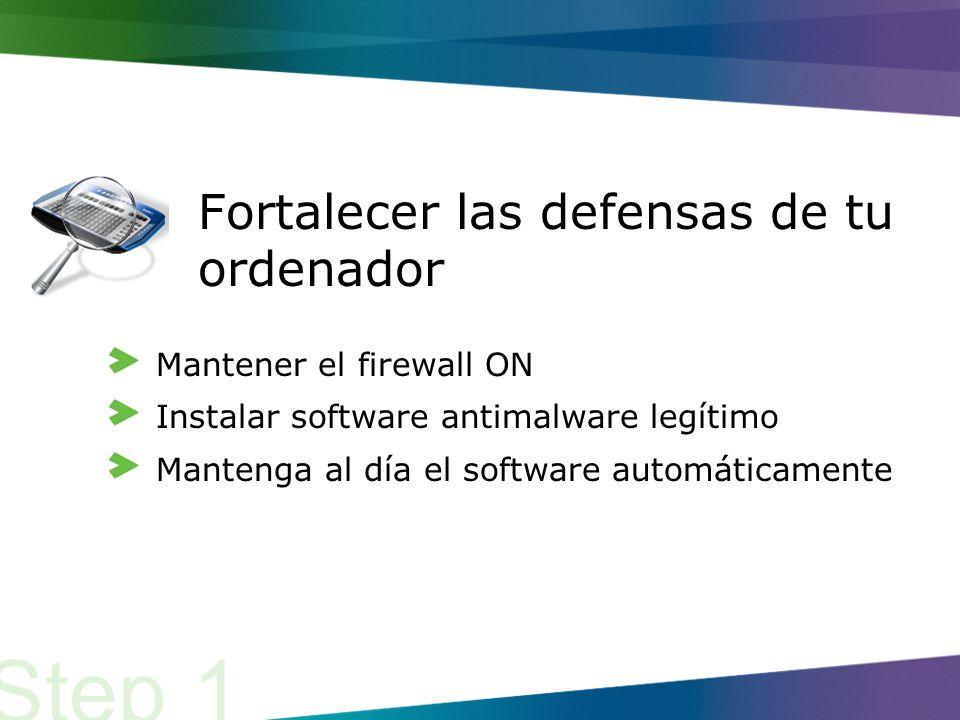 Ellos tratan de instalar software malicioso (o malware) en equipos que no se han actualizado.