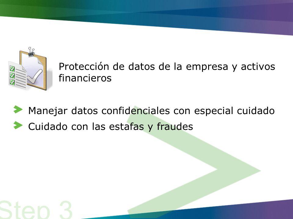 En última instancia, los pasos que hemos cubierto hasta ahora son sobre la protección de datos de información de nuestra empresa-cliente, la propiedad intelectual y los activos financieros homogéneos, así como vitales.