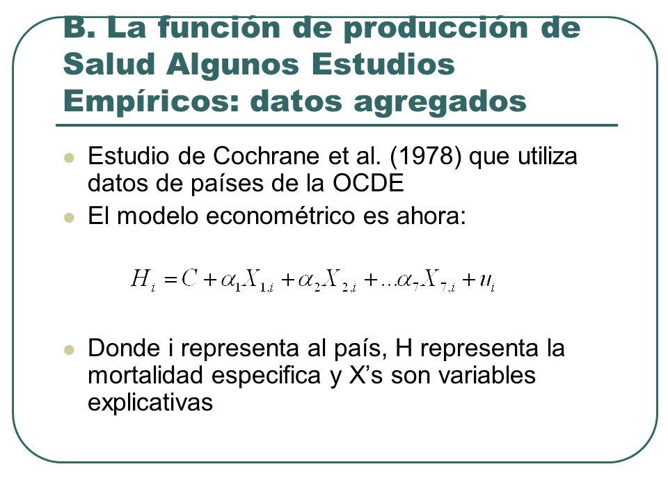 Estudio de Cochrane et al.