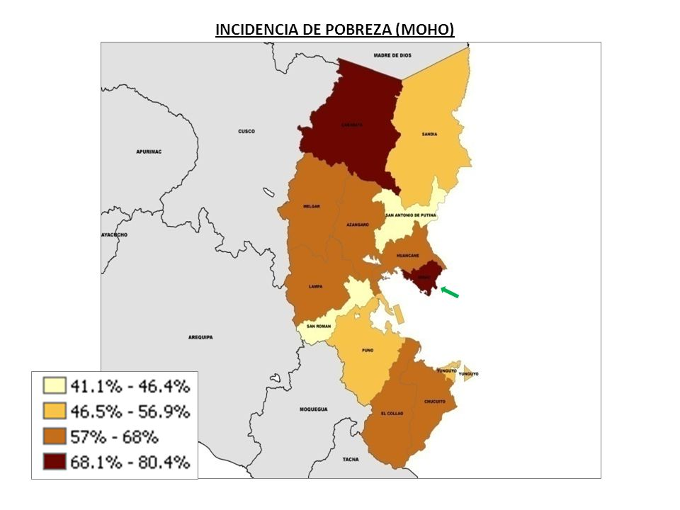 INCIDENCIA DE POBREZA (MOHO)