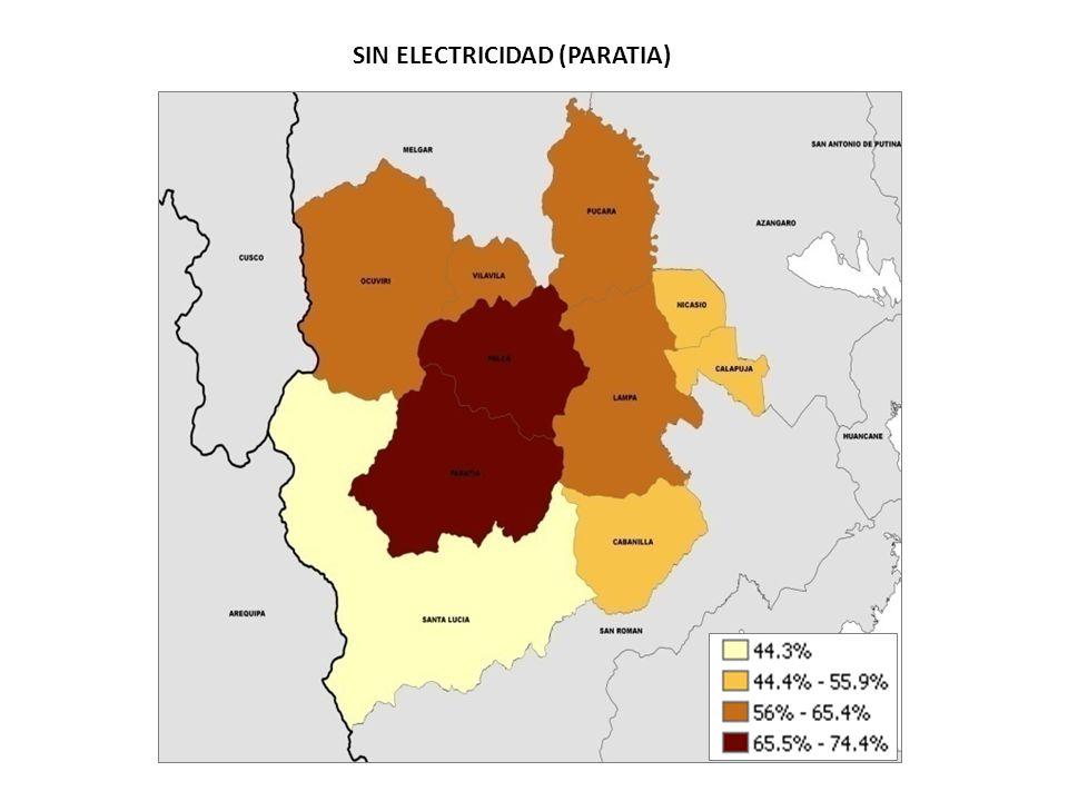 SIN ELECTRICIDAD (PARATIA)