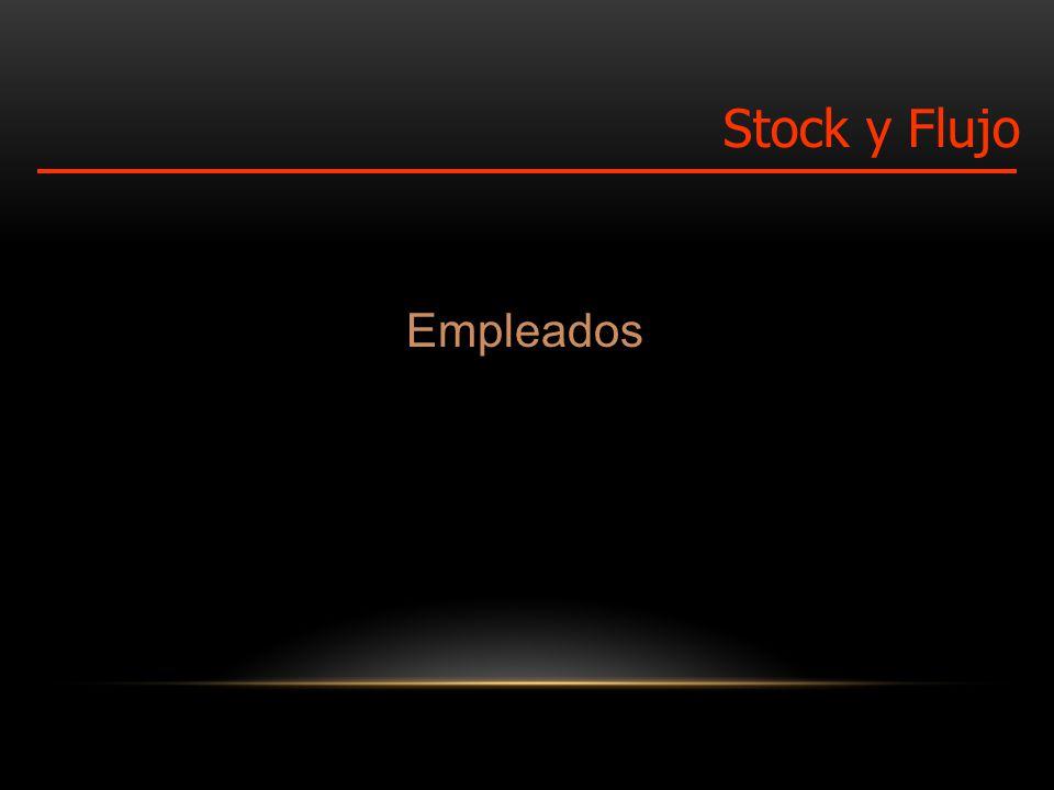 Empleados Stock y Flujo
