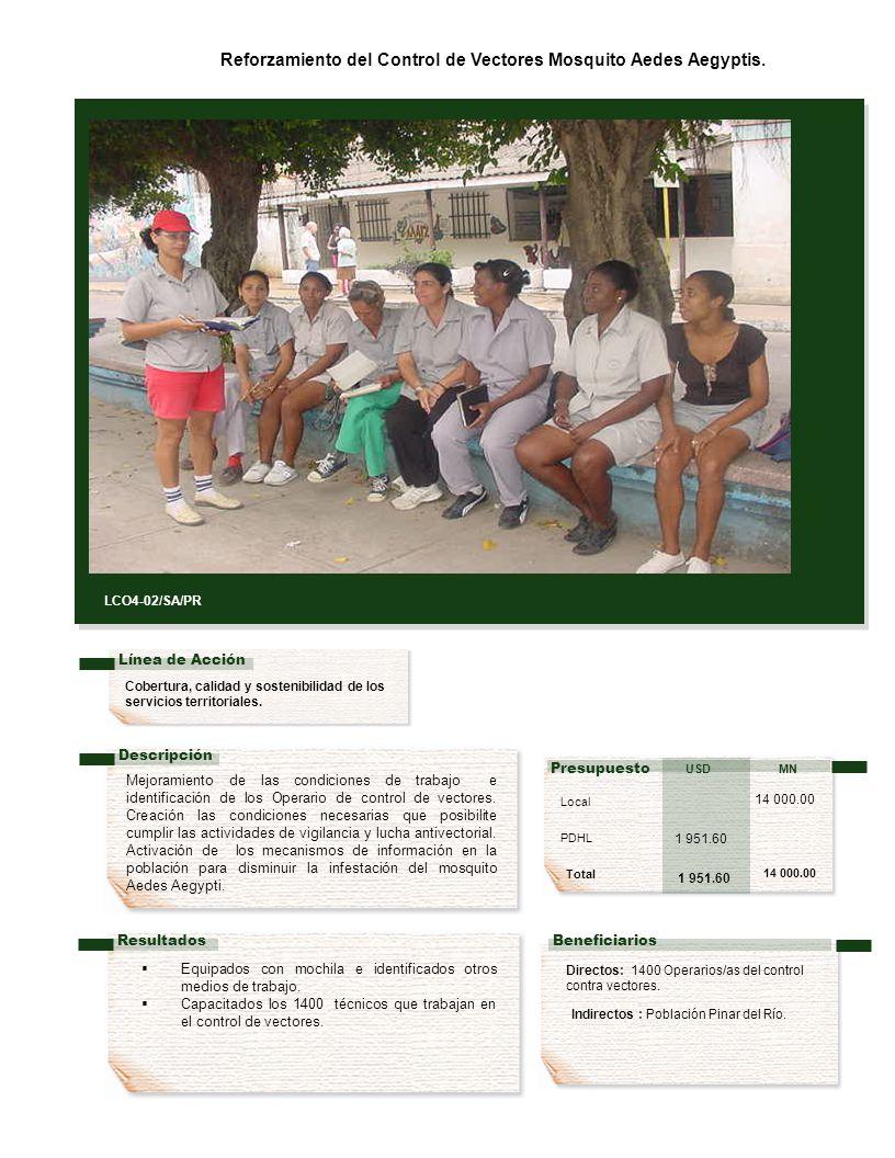 Cobertura, calidad y sostenibilidad de los servicios territoriales.