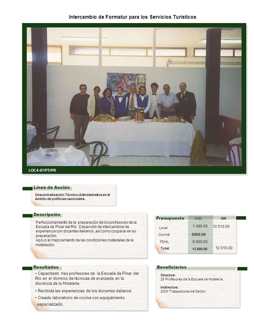 Descentralización Técnico-Administrativa en el ámbito de políticas nacionales.