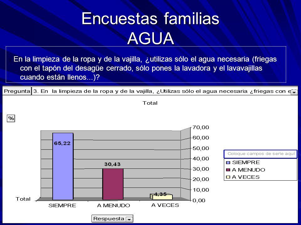Encuestas familias AGUA 3.