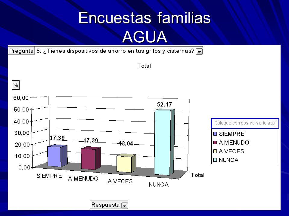 Encuestas familias AGUA