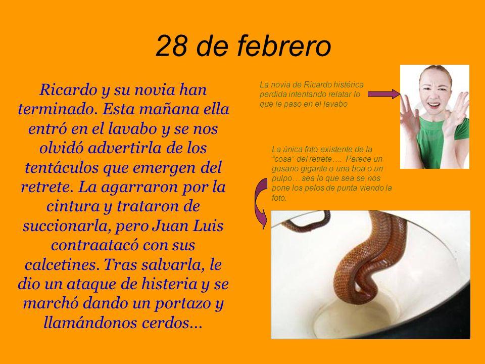 27 de febrero Juan Luis y Ricardo son dos hijos de puta.