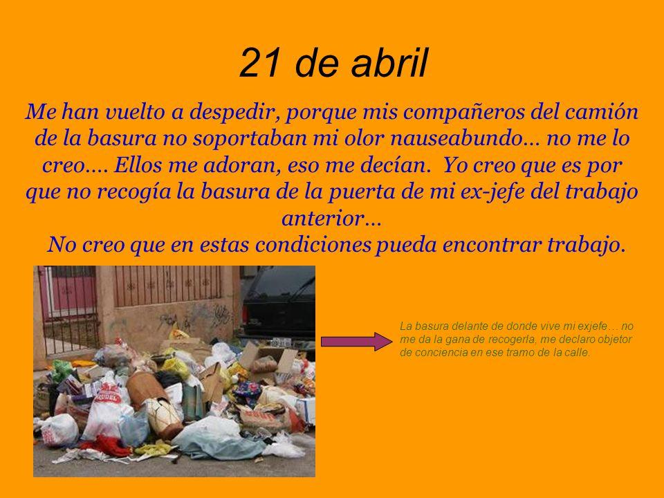 2 de abril Ricardo ha desaparecido.
