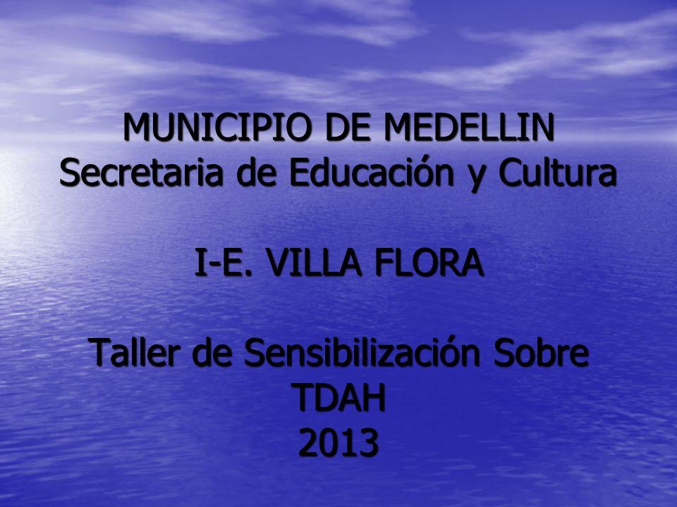 MUNICIPIO DE MEDELLIN Secretaria de Educación y Cultura I-E.