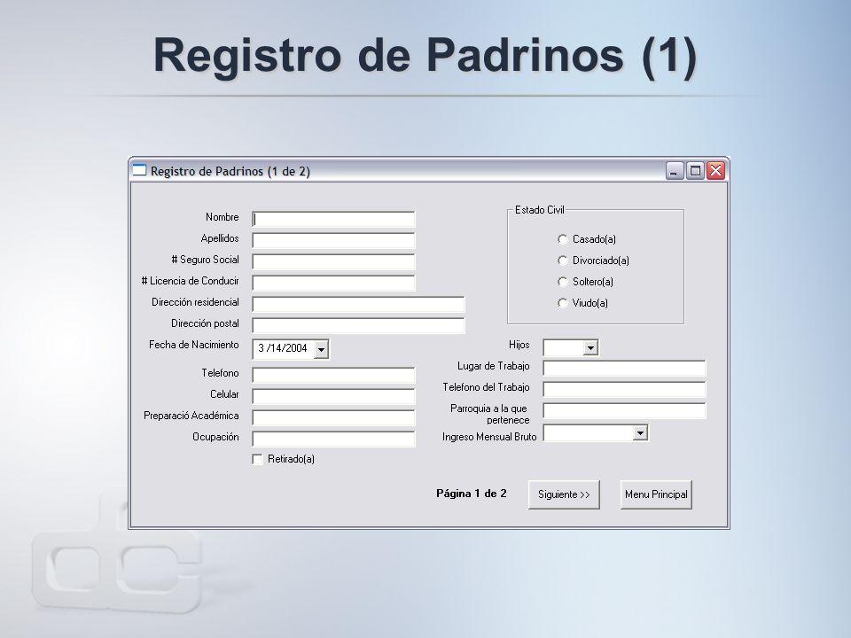 Registro de Padrinos (1)