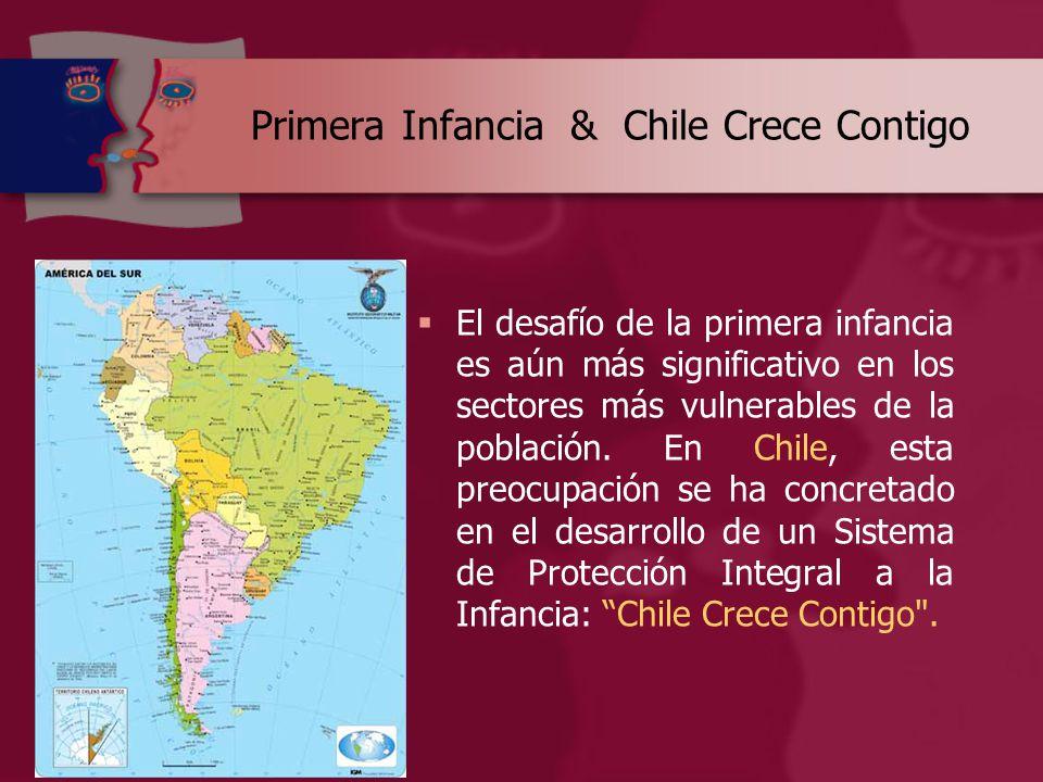 Primera Infancia & Chile Crece Contigo  El desafío de la primera infancia es aún más significativo en los sectores más vulnerables de la población.