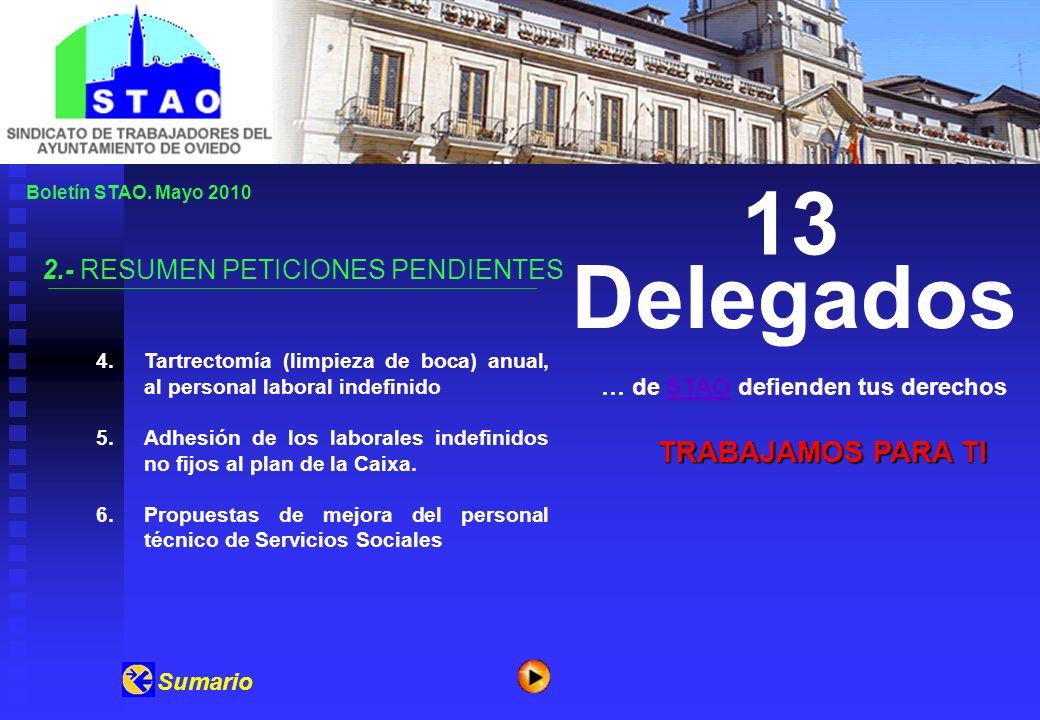 Boletín STAO.