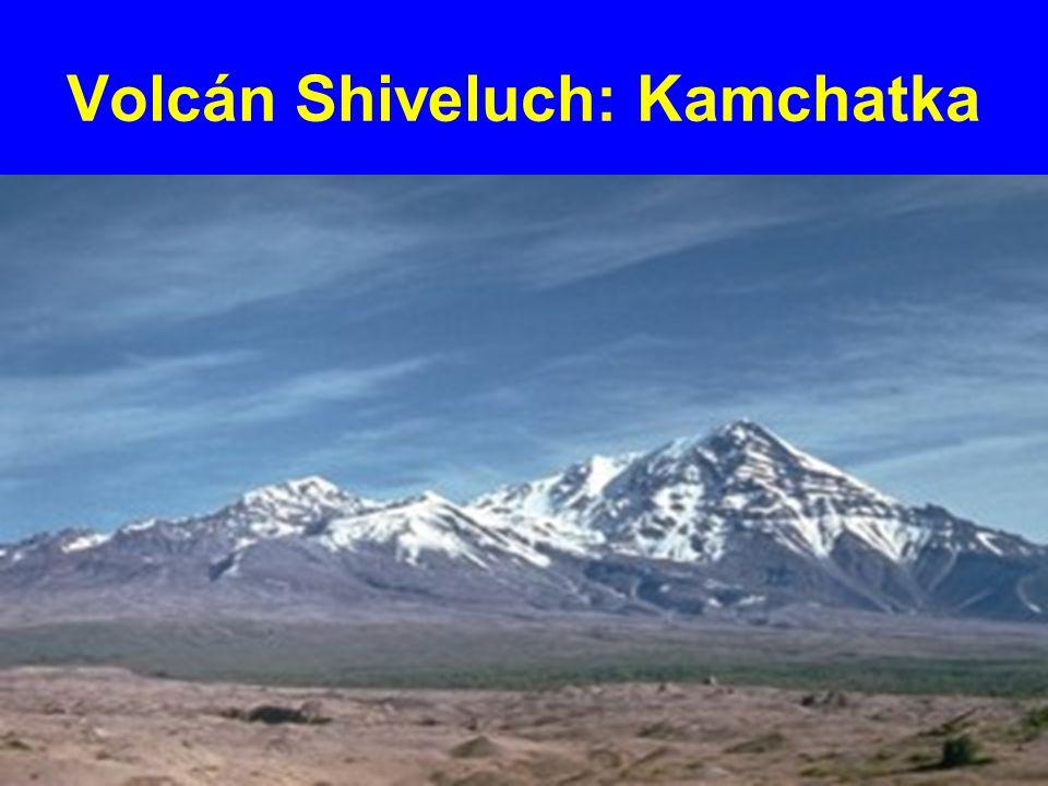 Volcán Shiveluch: Kamchatka
