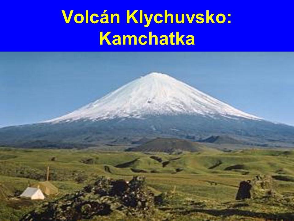 Volcán Klychuvsko: Kamchatka