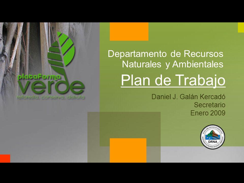 Departamento de Recursos Naturales y Ambientales Daniel J.
