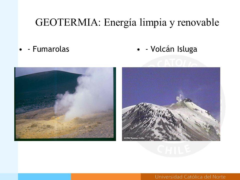 - Fumarolas- Volcán Isluga