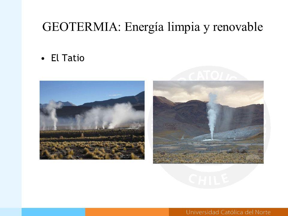 GEOTERMIA: Energía limpia y renovable El Tatio