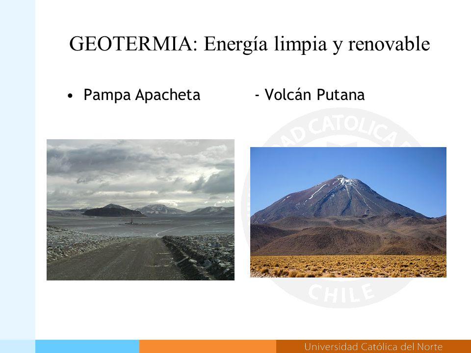GEOTERMIA: Energía limpia y renovable Pampa Apacheta- Volcán Putana