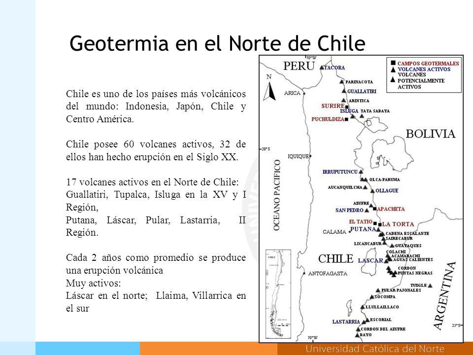Chile es uno de los países más volcánicos del mundo: Indonesia, Japón, Chile y Centro América.