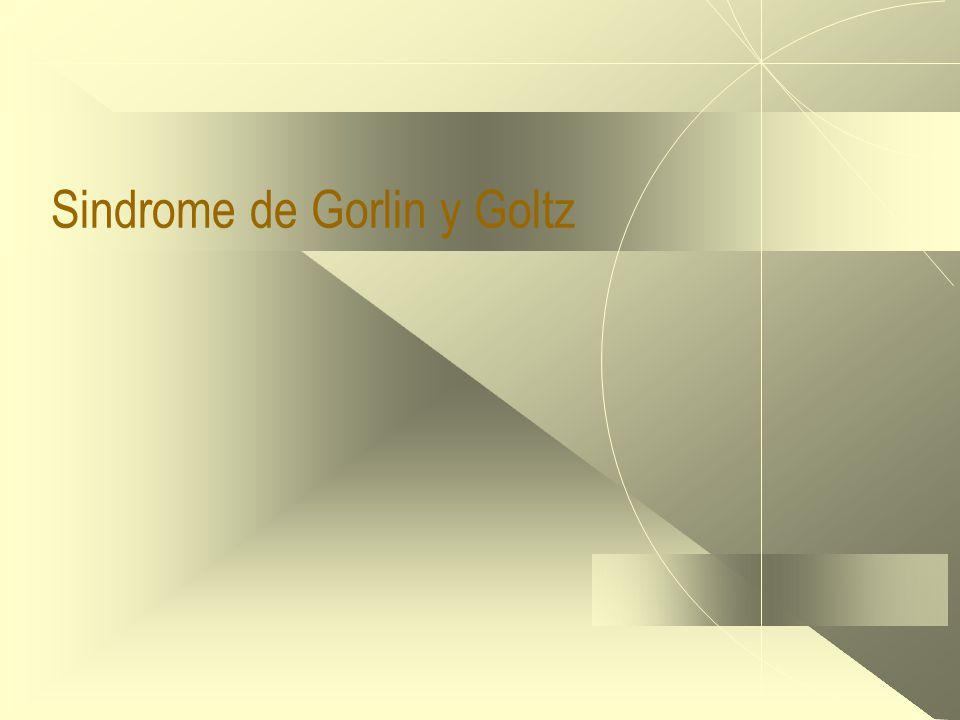 Sindrome de Gorlin y Goltz