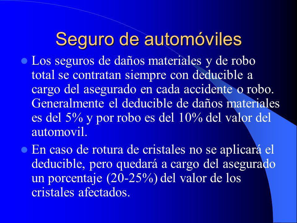 Responsabilidad Civil por Daños a Terceros Ampara al asegurado o a cualquier persona que con su consentimiento use el vehículo.