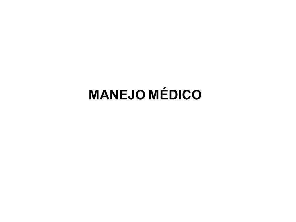 MANEJO MÉDICO