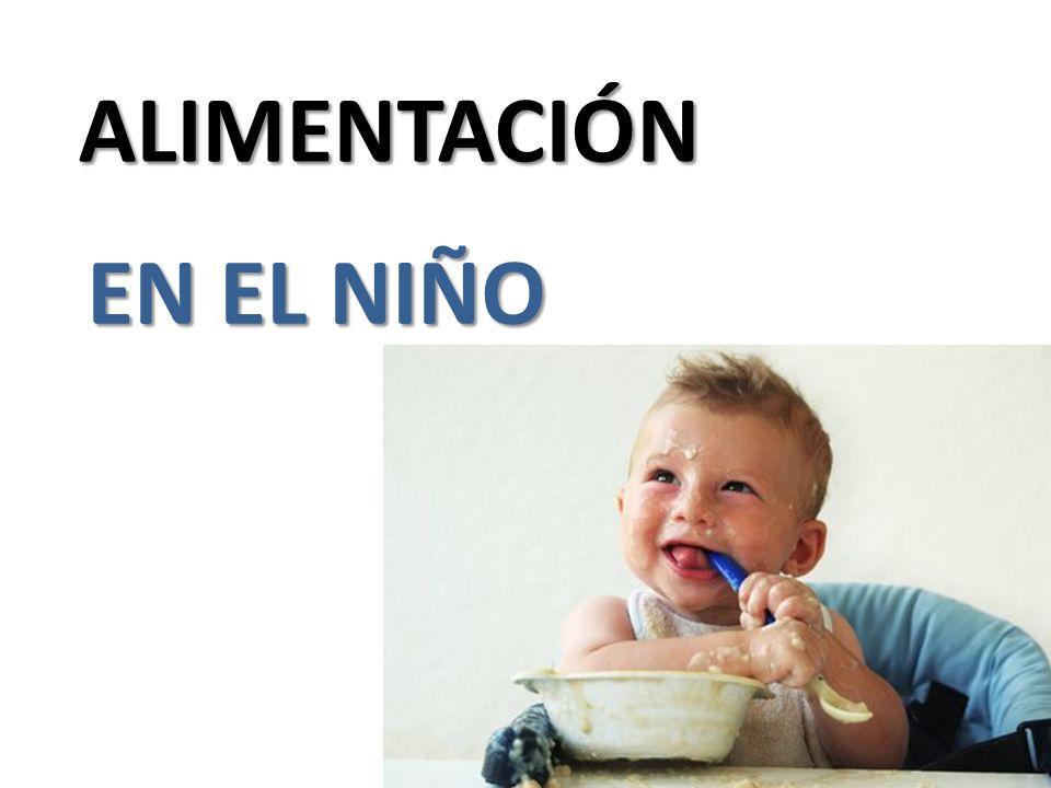 ALIMENTACIÓN EN EL NIÑO