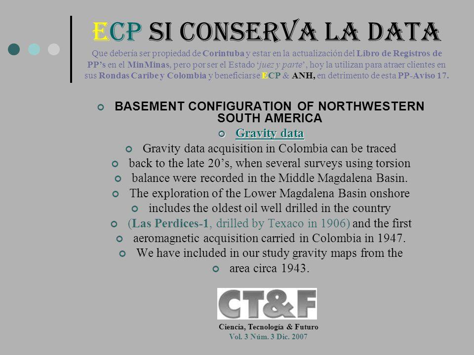 ECP SI CONSERVA LA DATA Que debería ser propiedad de Corintuba y estar en la actualización del Libro de Registros de PP's en el MinMinas, pero por ser el Estado 'juez y parte', hoy la utilizan para atraer clientes en sus Rondas Caribe y Colombia y beneficiarse ECP & ANH, en detrimento de esta PP-Aviso 17.