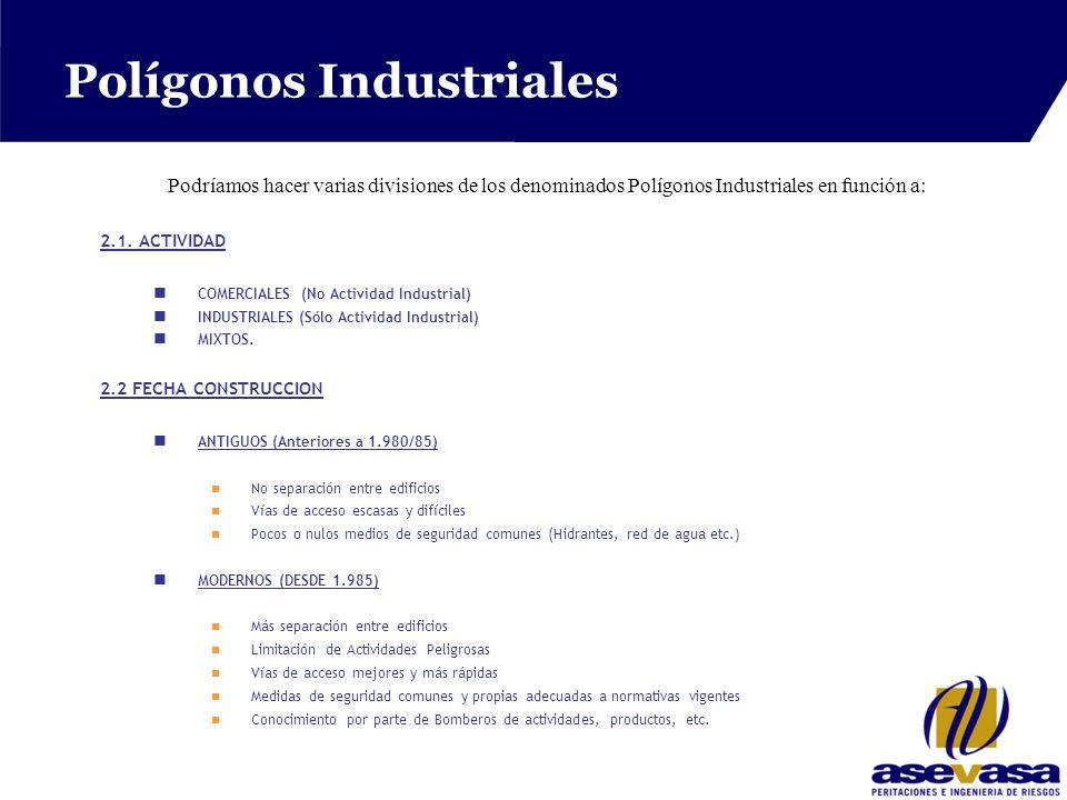 Polígonos Industriales 2.1.