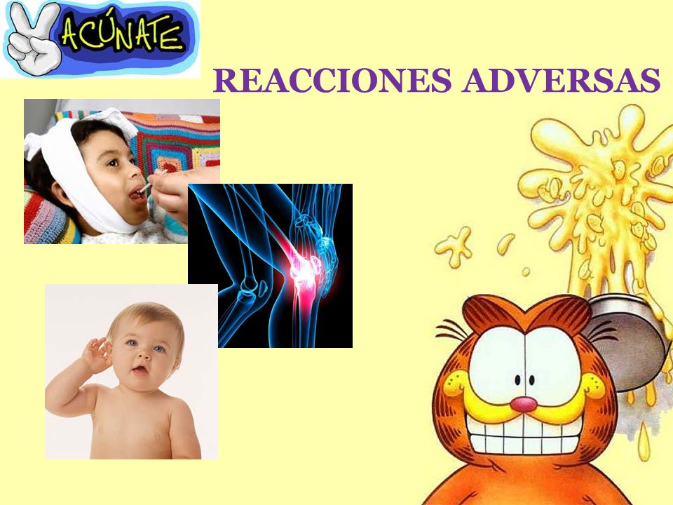 REACCIONES ADVERSAS