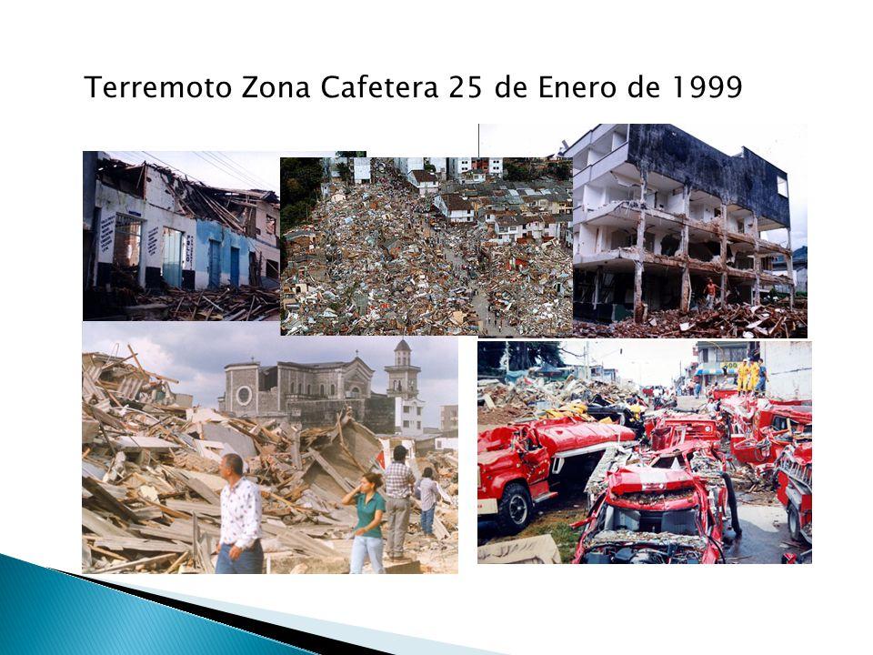 Terremoto Zona Cafetera 25 de Enero de 1999