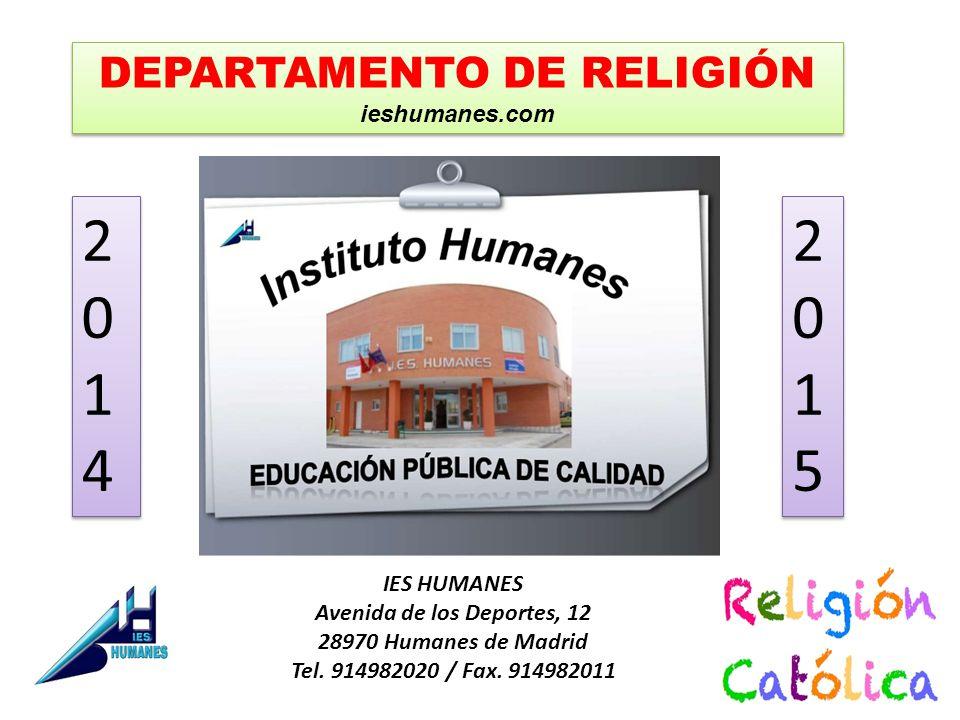 IES HUMANES Avenida de los Deportes, 12 28970 Humanes de Madrid Tel.