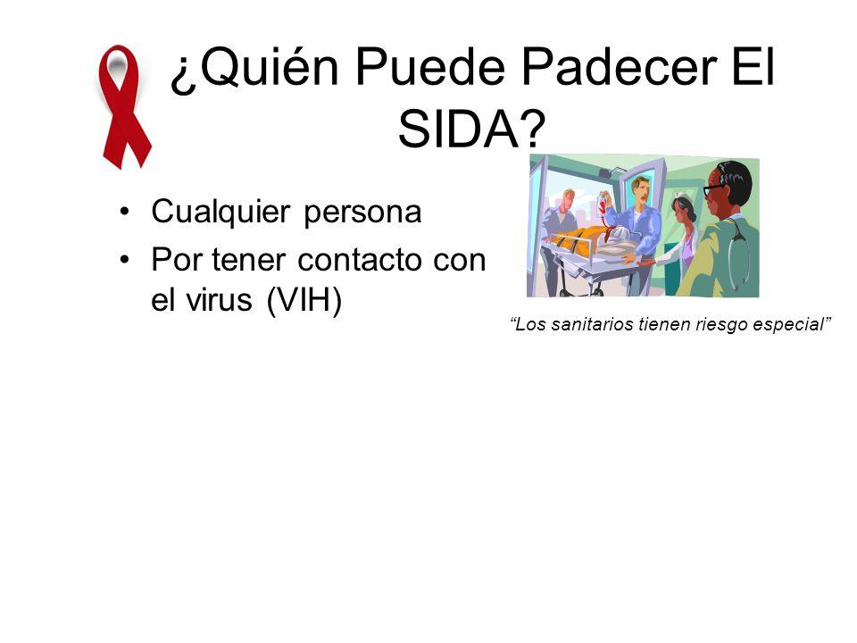 ¿Qué Es El SIDA.Enfermedad infecciosa Producida por un virus.